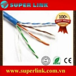 Cáp mạng internet Cat5e FTP Superlink